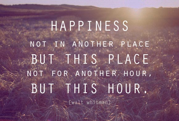 Happiness by Walt Whitman