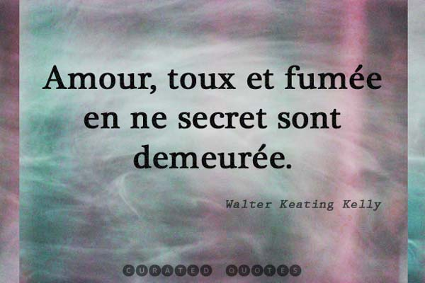 Love Quotes In French