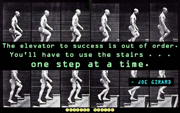the elevator to success