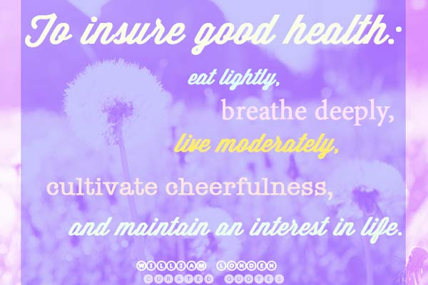 inspirational health quote