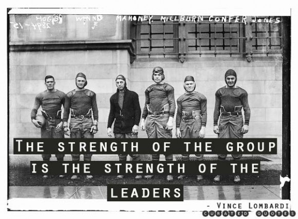 sports leadership quote