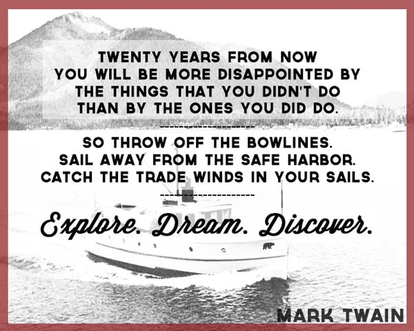Explore, Dream, Travel