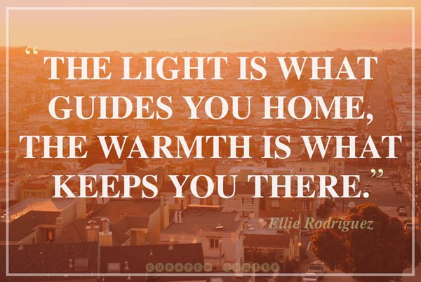 home-is-light-quotation