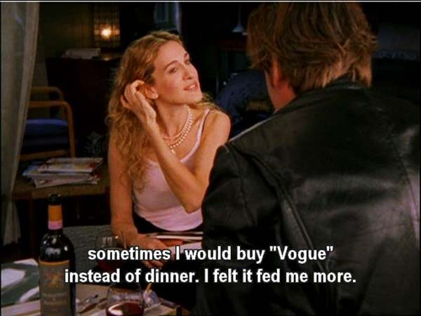 Vogue Sex and the City