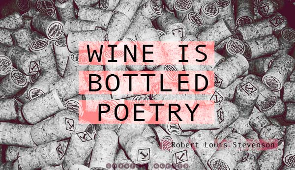 Wine Bottled Poetry