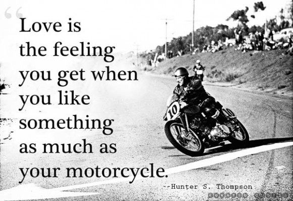 Motorcycle Hunter S. Thompson