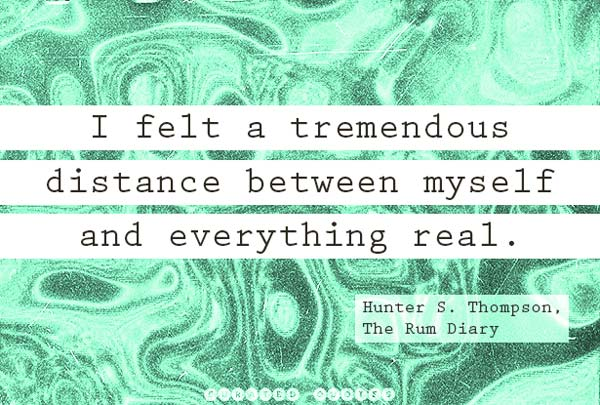 Distance Between Everything