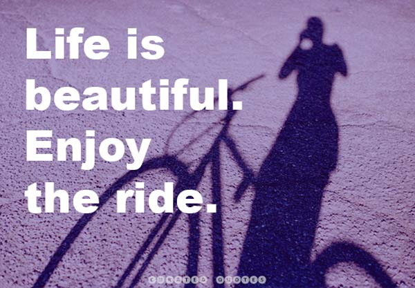 Beautiful Life Enjoy The Ride