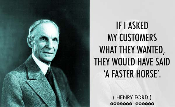 Henry Ford A Faster Horse