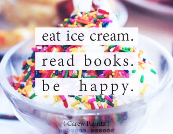Eat Read Be Happy