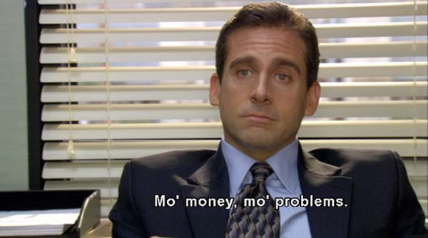Michael Scott Mo' Money