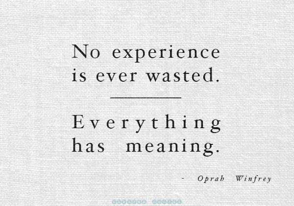 Experience Everything
